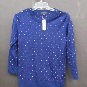 J. Crew Polka dot Tippi Sweater Size M